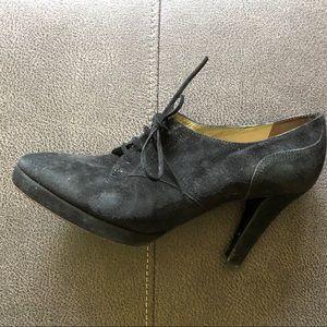 Vintage Yves Saint Laurent heeled booties